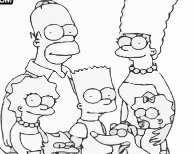 Colorati cu Familia Simpson