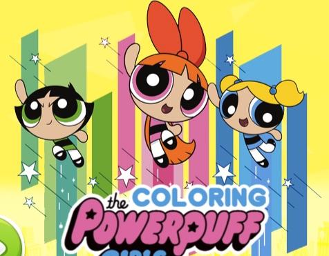 Colorati cu Fetele Powerpuff