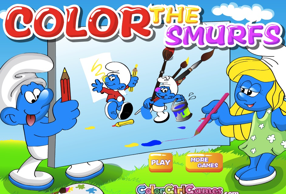 Colorati cu Strumfi