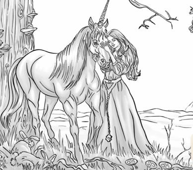 Colorati Unicornul