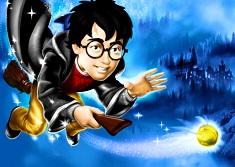 Coloreaza cu Harry Potter