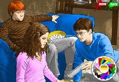 Coloreaza Imagini din Harry Potter
