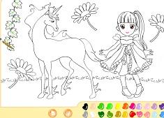 Coloreaza Unicornul