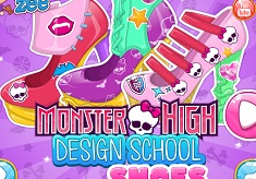 Creeaza Pantofii Monster High