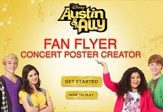 Creeaza Postere cu Austin si Ally