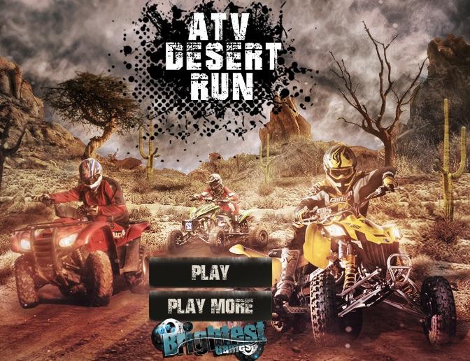 Curse cu ATV in Desert