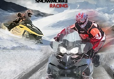 Curse de Snowmobile In Viteza