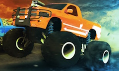 Curse Drag cu Monster Truck