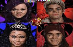 Descendants Puzzle cu Caractere