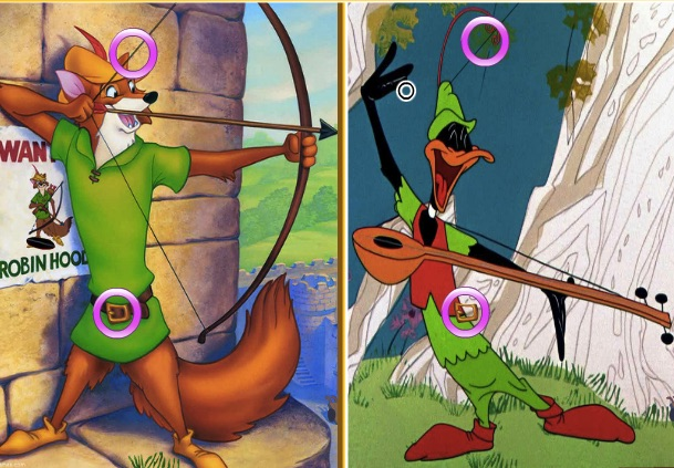 Diferente si Asemanari cu Vulpea Robin Hood
