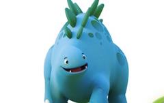 Dinopaws Litere Ascunse