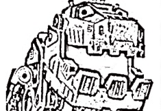 Dinotrux de Colorat