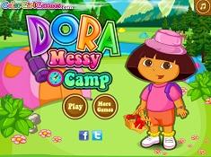 Dora Curatenie in Tabara