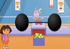 Dora si Boots Ridica Greutati