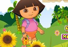 Dora si Cosul cu Flori