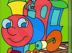 Dragutul Tren de Colorat