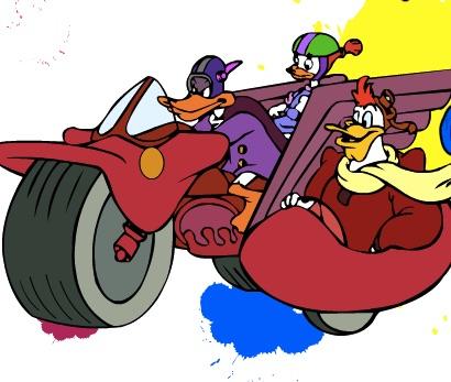 Duck Tales de Colorat