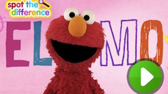 Elmo Gaseste Diferentele