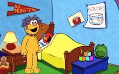 Elmo Prima zi la Scoala