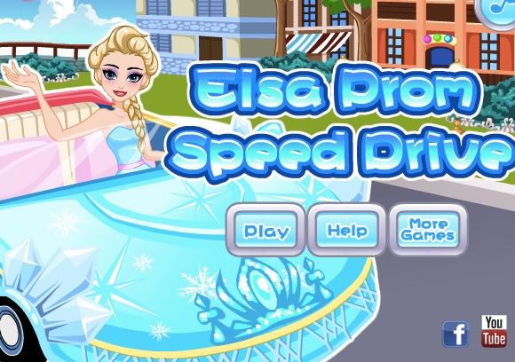 Elsa Conduce la Banchet
