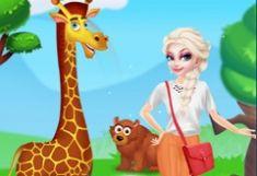 Elsa Fericita la Zoo