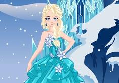 Elsa in Rochie de Mireasa
