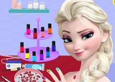 Elsa la Salonul de Manichiura 2