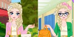 Elsa Moda la Facultate