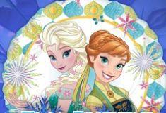 Elsa Puzzle Patru Anotimpuri