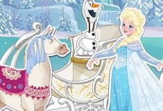 Elsa Repara Sania de Iarna