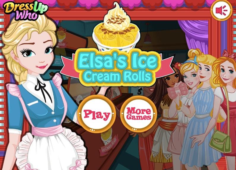 Elsa Role de Inghetata