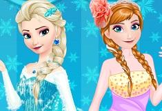 Elsa si Ana Concurs de Machiat