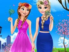 Elsa si Ana Imbracaminte de Primavara