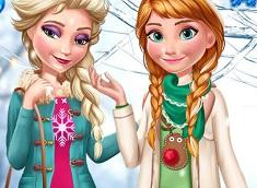 Elsa si Ana Tendinte de Iarna