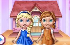 Elsa si Anna Casa de Papusi