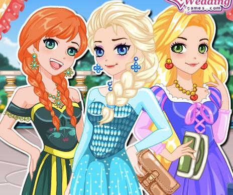 Elsa si Anna Printese Manga