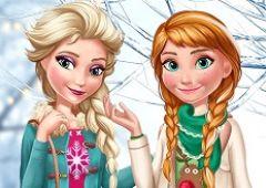 Elsa si Anna Trend de Iarna