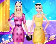 Elsa si Barbie Modele