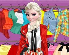 Elsa si Imbracamintea Trendy