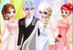 Elsa si Jack Frost Poze de Nunta