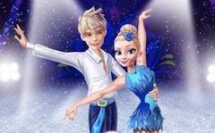 Elsa si Jack Show la Patinaj