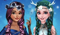 Elsa si Moana Coafuri Fantastice