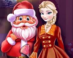 Elsa si Mos Craciun Fac Curatenie