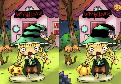 Emma Diferente de Halloween