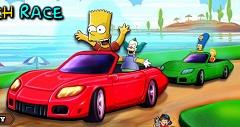 Familia Simpson Curse pe Plaja