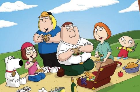Family Guy de Colorat