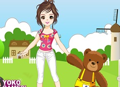 Fata si Ursuletul Teddy