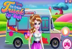 Fata Spala Camionul de Inghetata