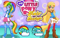 Fetele Equestria Design de Coafuri