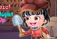 Fetita Hazel Arheolog